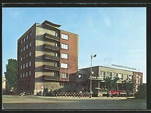 Ansichtskarte Michalovce, Hotel Jalta, Jednota, Aussenansicht