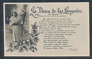 Ansichtskarte Lied: La Danza de las Langostas,
