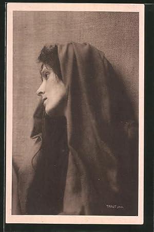 Ansichtskarte Oberammergau, Passionsspiele 1922, Marta Veit als