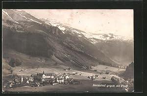 Ansichtskarte Melchthal, Panorama gegen die Frutt
