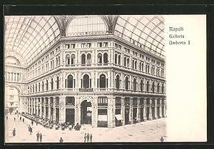 Cartolina Napoli, Galleria Umberto I
