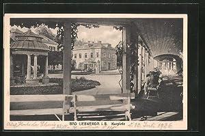 Ansichtskarte Bad Liebwerda / Lazne Libverda, Blick