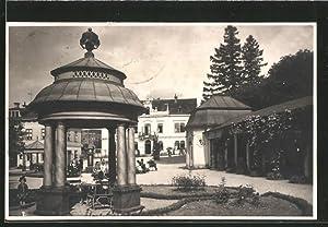 Ansichtskarte Bad Liebwerda / Lazne Libverda, Trinkhalle