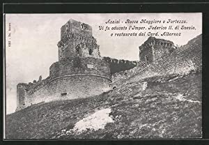 Cartolina Assisi, Rocca Maggiore o Fortezza, Vi