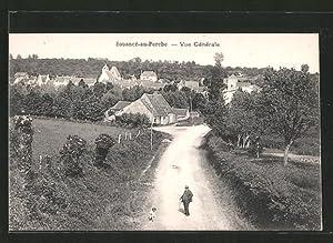 Carte postale Souancé au Perche, Vue générale,