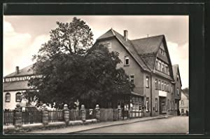 Ansichtskarte Weissenborn, HO-Gaststätte u. FDGB-Heim Thüringer Hof