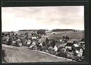 Ansichtskarte Jahnsdorf, Blick auf den Ort