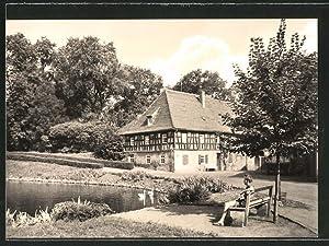 Ansichtskarte Meuselwitz, Alte Mühle