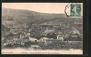 Carte postale Saint-Mihiel, vue générale et fort