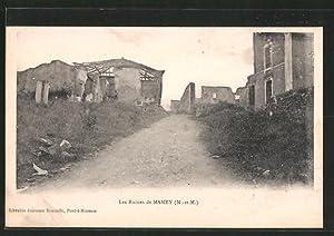 Carte postale Mamey, Les ruines