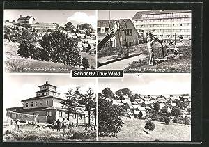 "Ansichtskarte Schnett, FDGB-Erholungsheim ""Kaluga"", Jugendherberge, Teilansicht"