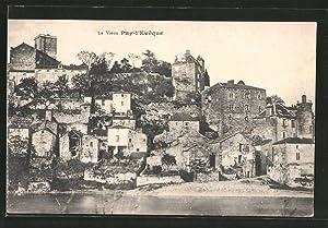 Carte postale Puy-l'Evêque, le vieux Puy-l'Evêque