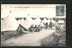 Carte postale Cercottes, le camp de cercottes,