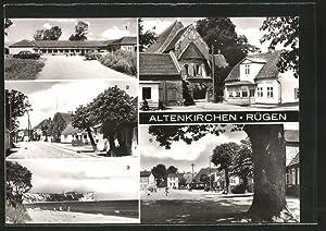 Ansichtskarte Altenkirchen, Konsum-Landwarenhaus, Strasse des Friedens, Kap