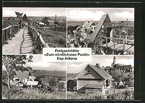 """Ansichtskarte Kap Arkona, Freigaststätte """"zum nördlichsten Punkt"""""""