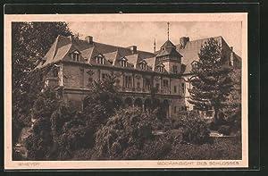 Ansichtskarte Rheydt, Rückansicht des Schlosses