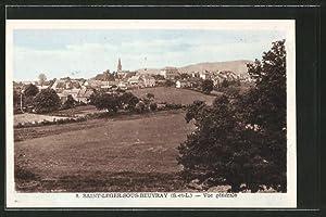 Carte postale Saint-Léger-sous-Beuvray, vue générale