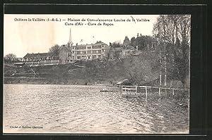 Carte postale Château la Vallière, Maison de