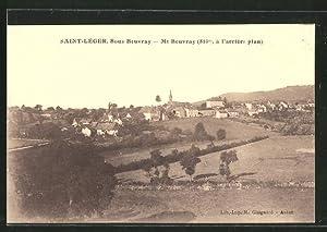 Carte postale Saint-Léger, Mt Beuvray, vue générale