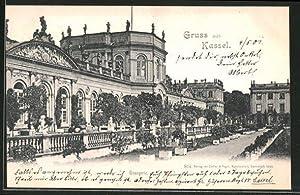Ansichtskarte Kassel, Orangerie an der Karlsaue