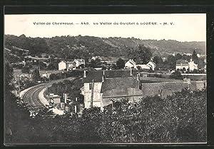 Carte postale Lozère, la vallée du Guichet,