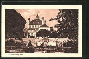 Ansichtskarte Fredensborg, Slot, Schloss mit Umgebung