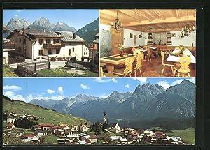 Ansichtskarte Ftan, Hotel Garni Pradatsch, Aussen- u.