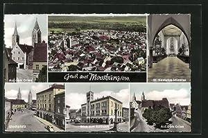 Ansichtskarte Moosburg, Gesamtansicht, Auf dem Gries, Chor