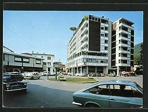 Cartolina Maniago, Largo S. Carlo