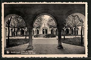 Ansichtskarte Knocke-Zoute, Préau de l'Eglise