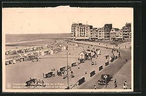 Ansichtskarte Knocke, Albert-Plage, Vue sour la Plage