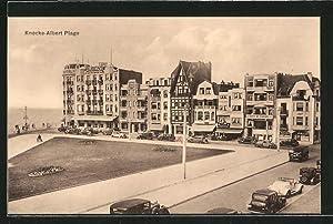 Ansichtskarte Knocke, Albert Plage