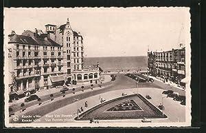 Ansichtskarte Knocke, Place van Brunnen