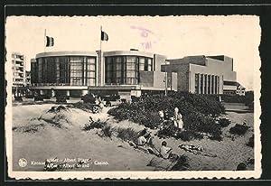 Ansichtskarte Knocke-Albert-Strand, Casino