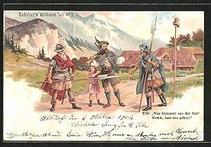 Lithographie Schiller's Wilhelm Tell No. 7, Was