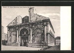 Cartolina Rimini, Il Tempio Malatestiano (Leon Battista