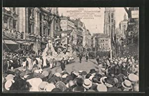Ansichtskarte Antwerpen / Anvers, Juweelenstoet 1923, De