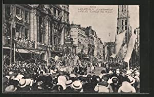 Ansichtskarte Antwerpen / Anvers, Juweelenstoet 1923, Cortège