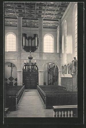 Ansichtskarte Foy-Notre-Dame, Intérieur de l'église