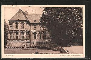 Ansichtskarte Rheydt, Front des Schlosses