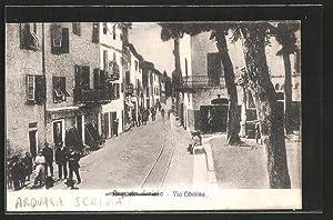 Cartolina Arquata Scrivia, Via Libarna