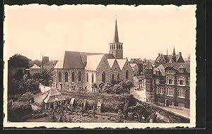 Ansichtskarte Lessines, Eglise St-Pierre, reconstruction de 1952