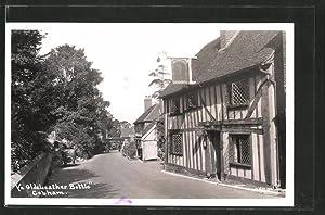Postcard Cobham, Ye Olde Leather Bottle