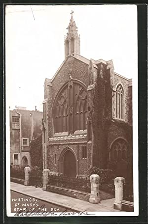 Postcard Hastings, St. Mary's Star of the