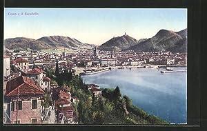 Cartolina Como, Lago di Como, Panorama e