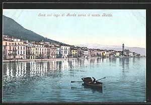 Cartolina Salo, Lago di Garda, verso il
