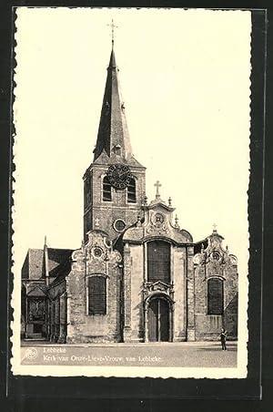 Ansichtskarte Lebbeke, Kerk van Onze-Lieve Vrouw van