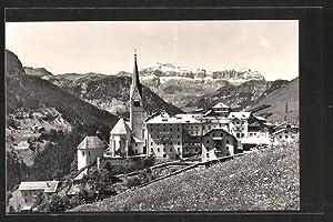 Cartolina Livinallongo, del col di Lene, Gruppo