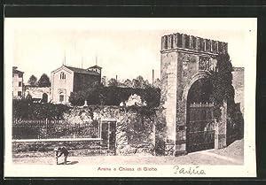Cartolina Padova, Arena e Chiesa di Giotto
