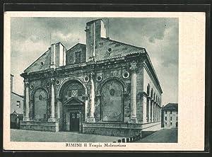 Cartolina Rimini, Il Tempio Malatestiano
